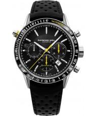 Raymond Weil 7740-SC1-20021 libero professionista Mens orologio cronografo in pelle nera
