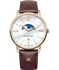 Maurice Lacroix EL1108-PVP01-112-1 Mens Eliros orologio cinturino in pelle marrone