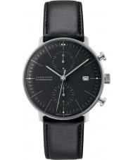Junghans 027-4601-00 Max Bill orologio automatico cronoscopio nero