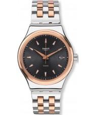 Swatch YIS405G Sistem smoking orologio bracciale in acciaio di due toni