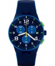 Swatch SUSN409 Orologio Bleu sur bleu