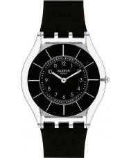 Swatch SFK361 Pelle - Orologio classiness nero