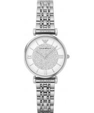 Emporio Armani AR1925 orologio abito acciaio argento signore