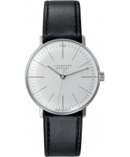 Junghans 027-3700-00 Max Bill orologio meccanico handwinding nero