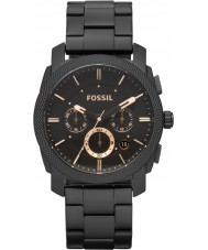 Fossil FS4682 orologio cronografo in acciaio nero macchina Mens