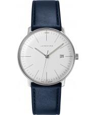 Junghans 041-4464-00 Max Bill orologio cinturino in pelle blu