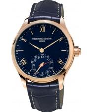 Frederique Constant FC-285N5B4 Mens orologeria orologio cinturino in pelle SmartWatch marina