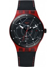 Swatch SUTR400 Sistem51 - sistem orologio automatico rosso