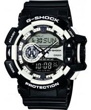 Casio GA-400-1AER Mens g-shock bianco cronografo nero