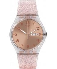 Swatch SUOK703 New Gent - orologio glistar rosa