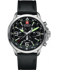 Swiss Military 6-4224-04-007 Mens freccia orologio nero crono
