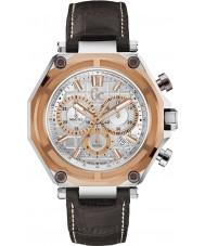 Gc X10001G1S gc-3 sport della vigilanza marrone del cronografo Mens