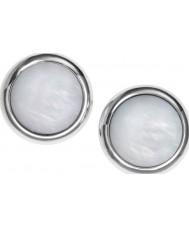 Fossil JF00705040 tono d'argento classico signore e madre di borchie di perle
