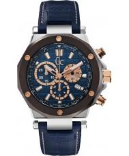 Gc X72025G7S gc-3 Mens orologio cronografo blu