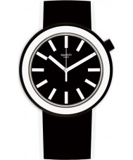 Swatch PNB100 Poplooking Black Watch cinturino in silicone