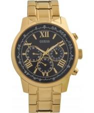 Guess W0379G4 Mens orizzonte oro placcato orologio cronografo