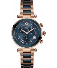 Gc Y05009M7 Lady chic rosa placcato in oro orologio cronografo
