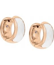 Fossil JF01120791 Signore classici rosa orecchini oro acciaio