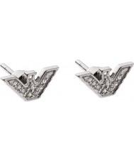 Emporio Armani EG3027040 Signore orecchini tono argento sterling