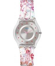 Swatch SFE102 Signore della pelle - orologio Jardin Fleuri
