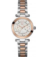 Gc Y06002L1 Ladychic rosa placcato in oro orologio da polso
