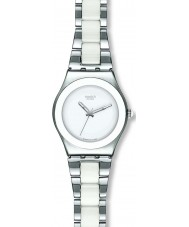 Swatch YLS141GC Ladies tresor blanc orologio