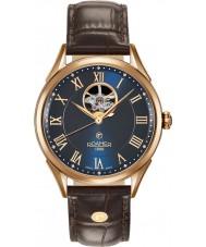 Roamer 550661-49-42-05 Mens Swiss Watch cinturino in pelle marrone matic