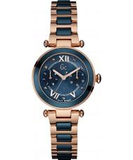 Gc Y06009L7 Ladychic rosa placcato in oro orologio da polso