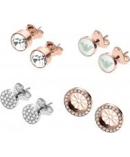 Emporio Armani EGS2456221 Set regalo per orecchini da donna