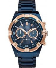 Guess W0377G4 scossa Mens orologio cronografo in acciaio blu