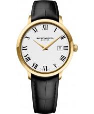 Raymond Weil 5488-PC-00300 Mens Toccata orologio cinturino in pelle nera