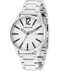 Police 14764JS-04M Mens dallas orologio da polso in acciaio d'argento