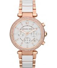 Michael Kors MK5774 Donne parker due toni orologio cronografo in ceramica
