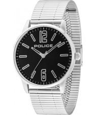 Police 14765JS-02M Mens Esquire argento orologio bracciale in acciaio