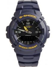 Casio G-100-2BVMUR Mens G-SHOCK orologio cinturino resina blu