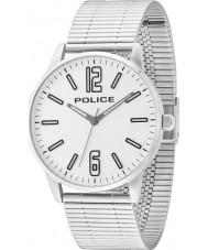 Police 14765JS-04M Mens Esquire argento orologio bracciale in acciaio