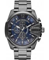 Diesel DZ4329 Mens mega capo orologio cronografo in acciaio canna di fucile