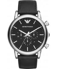 Emporio Armani AR1828 Mens Watch nero classico cronografo