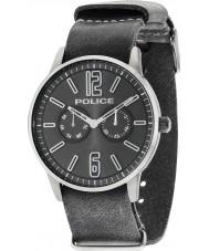 Police 14766JSU-61 Mens Esquire x orologio cinturino in pelle grigio