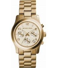Michael Kors MK5055 orologio d'oro cronografo signore pista