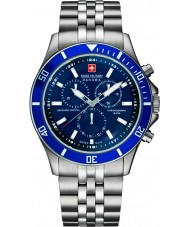 Swiss Military 6-5183-7-04-003 Uomo di punta chrono orologio d'argento