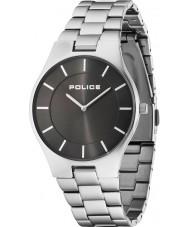 Police 14640MS-61M orologio da polso in acciaio d'argento Mens splendore