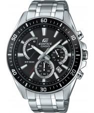 Casio EFR-552D-1AVUEF Mens edificio premio orologio cronografo argento