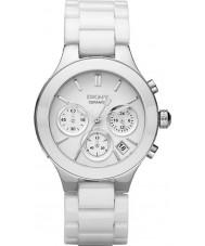 DKNY NY4912 Donna camere di bianco orologio cronografo in ceramica