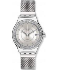Swatch YIS406GB Sistem Stalac s argento orologio bracciale in acciaio
