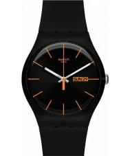 Swatch SUOB704 New Gent - orologio ribelle scuro