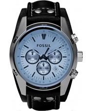 Fossil CH2564 tendenza Mens orologio blu del cronografo