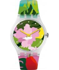 Swatch SUOK132 Orologio da donna tropicale da giardino