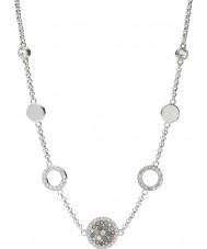 Fossil JF02312040 Signore acciaio collana d'argento d'epoca sfarzo