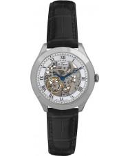 Rotary GS90508-02 Mens les originales Giura orologio d'argento scheletro automatica